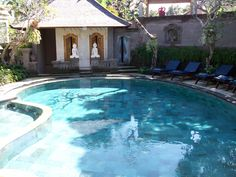 Peaceful swim at Honeymoon Guest House II, Ubud, Bali Ubud, Places Ive Been, Bali, Bucket, Swimming, Outdoor Decor, House, Travel, Home Decor