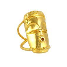 Voodoo Damballah Ring - Gold