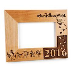 PERSONALIZÁVEL. US$ 45 PERSONALIZÁVEL! Walt Disney World 2016 Frame by Arribas - 4'' x 6'' - Personalizable