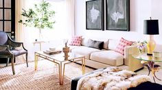 15 Envy-Inducing Celebrity Living Rooms via @domainehome