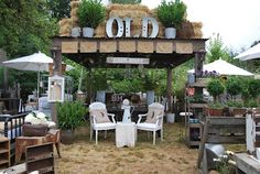 Barn House Vintage Home & Garden  Booth 2010