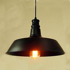Black Vintage Metal Industrial Pendant Light Warehouse Shade(Bulbs Not Included) LNC http://www.amazon.com/dp/B00QV7RTCI/ref=cm_sw_r_pi_dp_2Lvjvb1MA3FZP