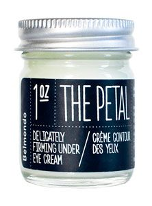 the petal: olive oil under eye cream