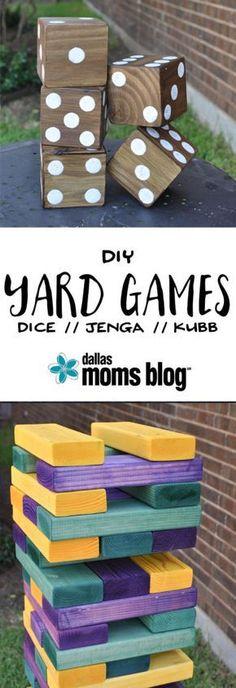 DIY Giant Summer Backyard Games | Dallas Moms Blog handyman-goldcoast.com