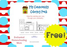 My Community Coloring Pack