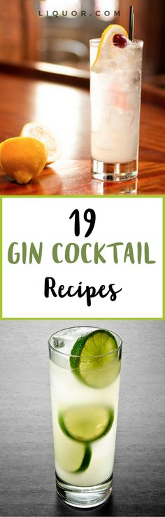 #Gin is a key ingredient in many #classic #cocktails. Try them out now!