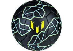 adidas Messi Soccer Ball - Black & Bright Yellow