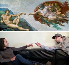 http://www.boredpanda.com/fools-do-art-art-recreations-francesco-fragomeni-chris-limbrick/ lol