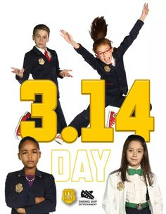 Happy Pi Day from Odd Squad!