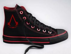 Assassins Creed Converse. Man I really want these there pretty cool.