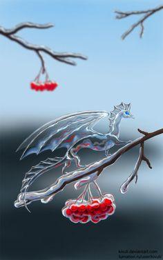 Dragon, rosé gelée