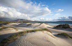 Silver Strand in County Mayo Ireland