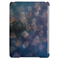 Mobula Rays Schooling | Cabo Arch Mexico Case For iPad Air - animal gift ideas animals and pets diy customize