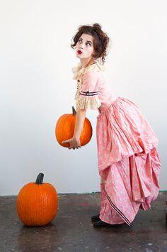 vintage Marie Antoinette costume