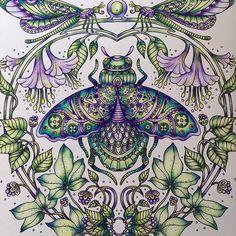 #hannakarlzon #daydreams #dagdrömmar #adultcoloringbook #coloring…