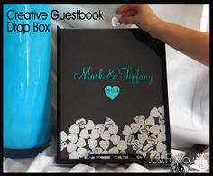 Tired of those boring guest books?  Try one of our CUSTOM wooden heart drop boxes.  Each guest signs a heart and drops it into the resealable open-top frame.  After the wedding, you simply add the top back on, and now you have a treasured keepsake to last a lifetime!