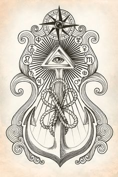 sketch for tattoo by FadeOut