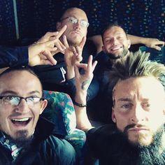 Adrian Neville, Colin Cassady, Finn Bálor, Enzo Amore. TOO SWEET.