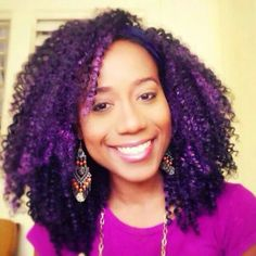 Crochet Braids Purple : ... Crochet Braids on Pinterest Crochet braids, Water waves and Crochet