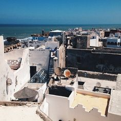 the beautiful rooftops of the Windy City Essaouira, Morocco #thpxmorocco #morocco #thehautepursuit