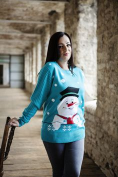 Frosty The Snowman Womens Knitted Christmas Jumper http://www.christmasjumpercompany.co.uk/womens-christmas-jumpers-sno/4553315439