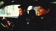 Rookie Blue Andy and Nick... I'm in love with this couple lol