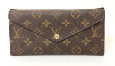 Louis Vuitton Ladies Wallet (Pre-owned Women's Monogram Canvas Long Origami LV Designer Wallet)
