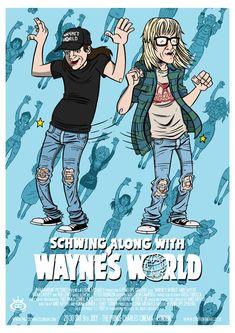 Wayne's World - movie poster - James Stayte