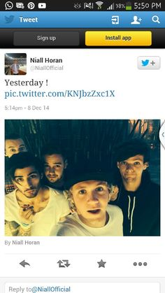 Niall posted this .... i think we all need a 5/5 SELFIE OF BOYS!!!!!!!!! ASDFGHJKL♥
