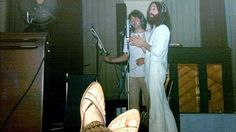 A rare shot of John Lennon and Paul McCartney singing together at the time of the Beatles' demise has been found. The photograph was taken at the 1969 recording of The Ballad of John and Yoko at Abbey Road Studios in London. The song was released in May of that year and became the band's last number one single.