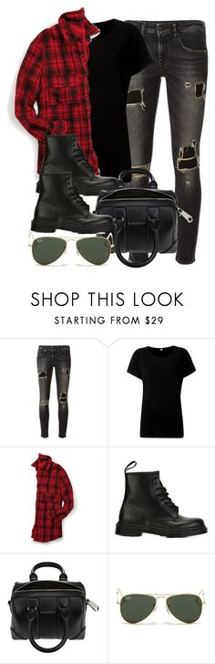 """Sin título #11965"" by vany-alvarado ❤ liked on Polyvore featuring R13, maurices, Dr. Martens, Givenchy and Ray-Ban"