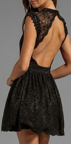 Lace black dress   Cut out back #lbd amatelli.com/ https://www.facebook.com/ashleyrarus amatelli.tumblr.com  twitter.com/ARARUS_