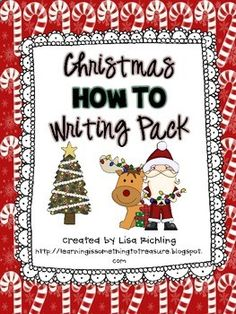 Christmas How To Writing Pack FREEBIE!
