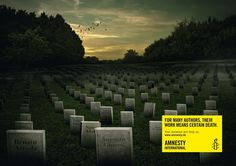 Via AI Germany, from 2012. | The Most Powerful Ads Of Amnesty International