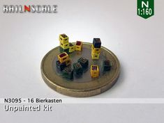 16 Bierkästen (N by railNscale on Shapeways. Learn more before you buy, or discover other cool products in Scenery.