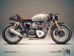 Ich werde ein Motorrad haben.