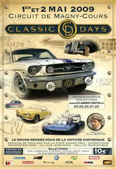 Affiche magny cours classic days
