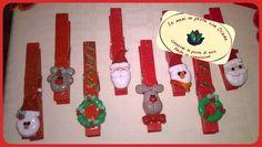 Le mani in pasta con Oriana, mollette natalizie, creazione in pasta di mais