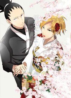 Shikamaru and Temari Nara Wedding ❤️❤️❤️