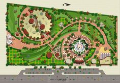 Landscape Plans Architecture Design Urban Art Site Master Plan Planning Concept Diagram