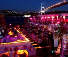 Reina Restaurant and Club, Istanbul, Turkey Night Club, Night Life, Chill Out Music, Bars And Clubs, Live Set, Dream City, Beautiful Places To Travel, Hot Shots, Istanbul Turkey