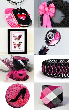 Think Pink by Sarah Francis on Etsy