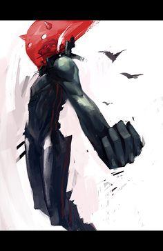 red by ~tobiee on deviantART