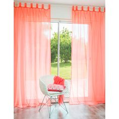 1000 ideas about coral curtains on pinterest curtains. Black Bedroom Furniture Sets. Home Design Ideas