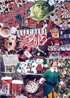 christmas time Christmas aesthetic 30 p - Christmas Collage, Noel Christmas, Merry Little Christmas, Winter Christmas, Christmas Lights, Christmas Crafts, Reindeer Christmas, Xmas Holidays, Christmas Candles