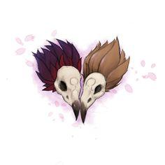 Skulls by Zhonja
