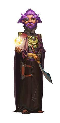 Gnome Mystic - Starfinder RPG (Core Rulebook Art)