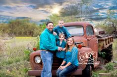 On location family photography session with an old truck https://www.facebook.com/pages/Mandy-Lee-Photography/113937515377935?ref_type=bookmark