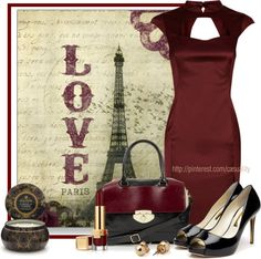 """Vintage Love in Paris"" by casuality on Polyvore"