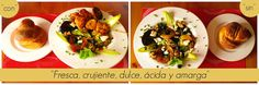 #salad #ensalada #fresca #crujiente #dulce #ácida #fresh #sweet / Ingredientes y paso a paso en el #blog